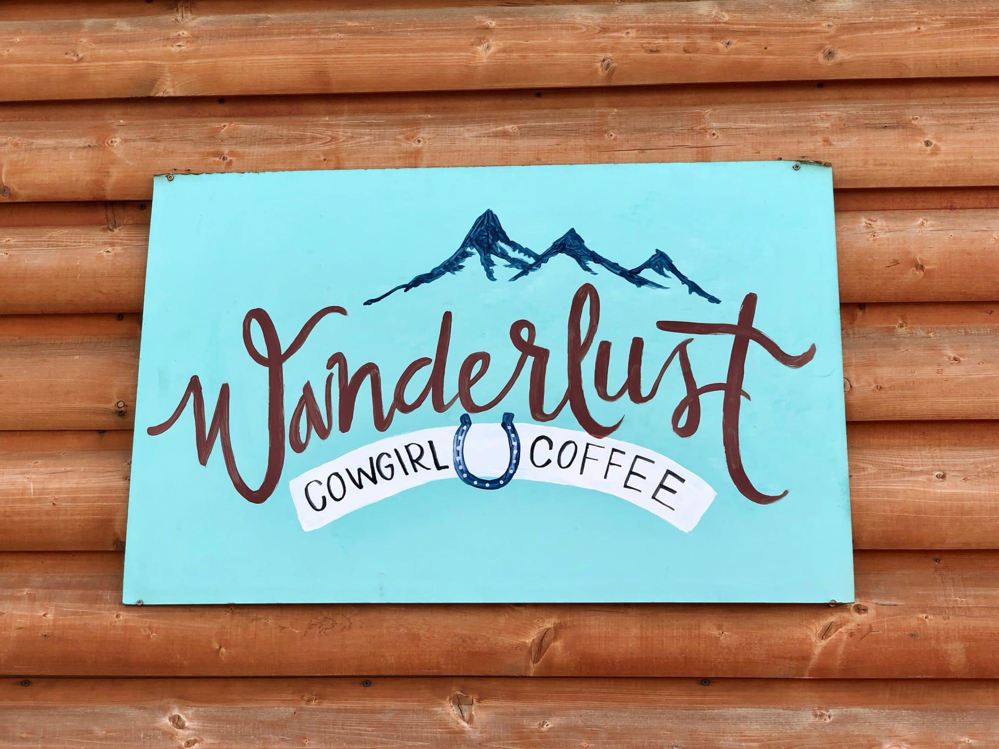 Wanderlust Cowgirl Coffee