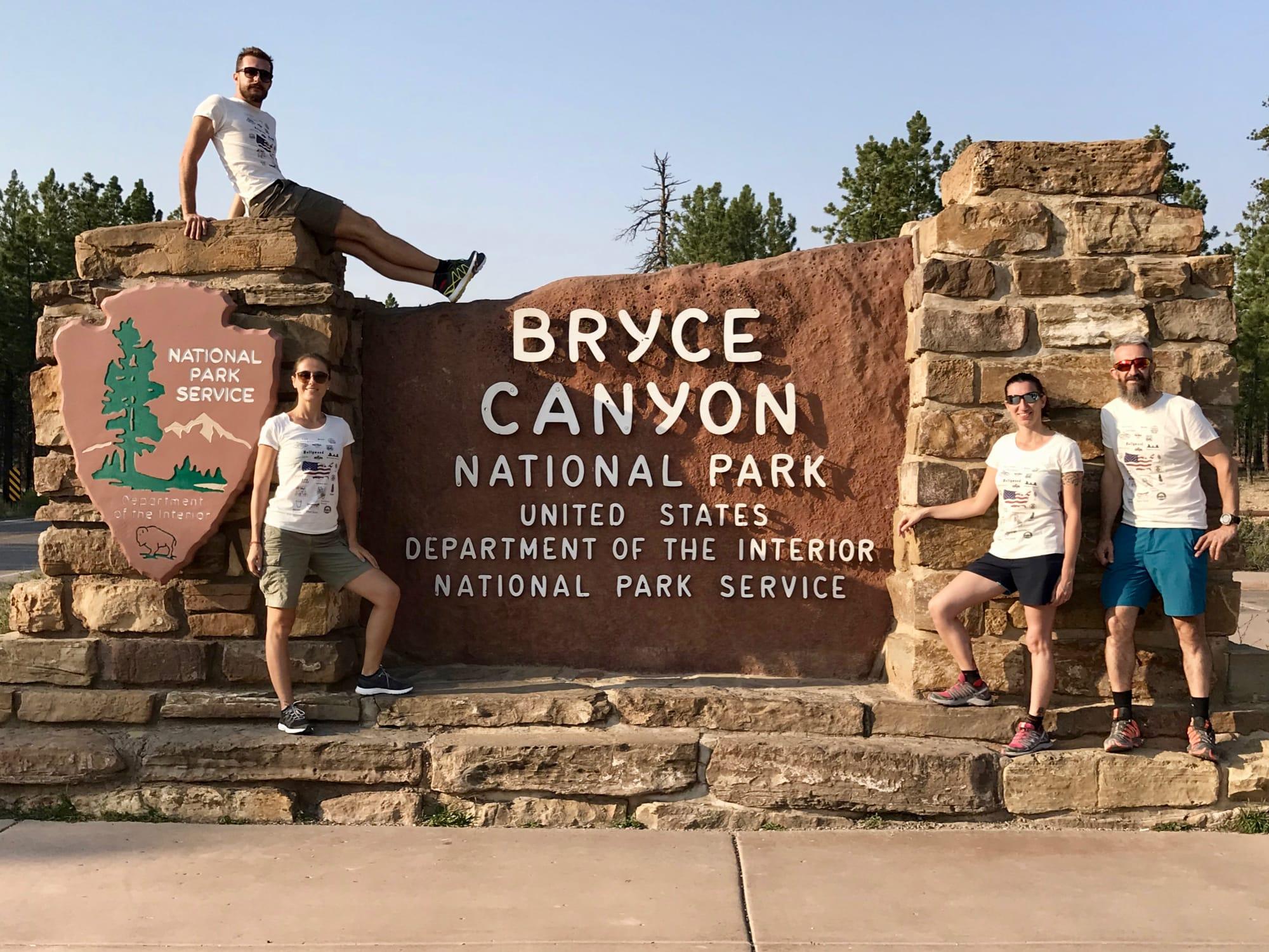 Ingresso al Bryce National Park