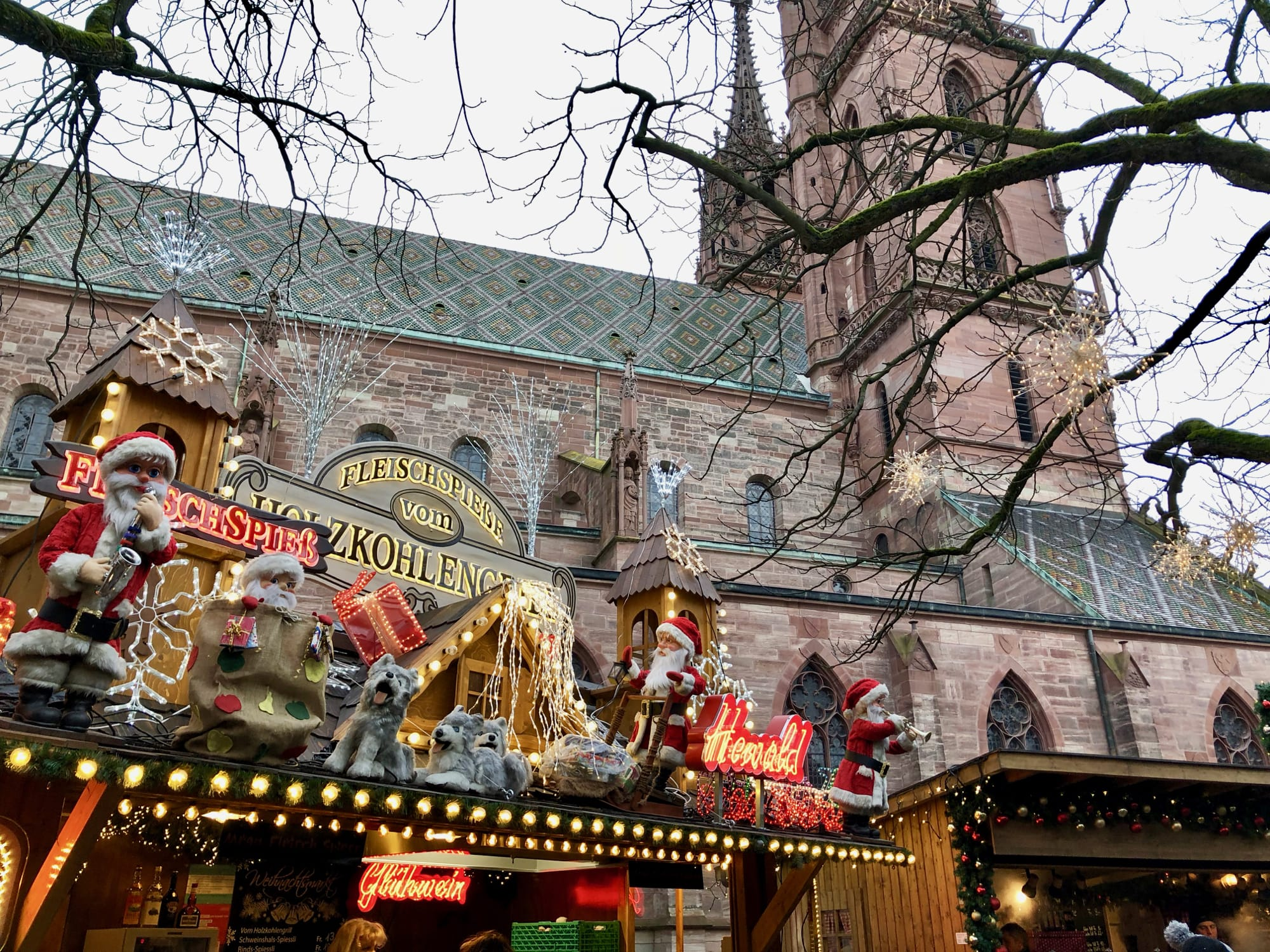 I mercatini di Basilea e le sue belle chiese