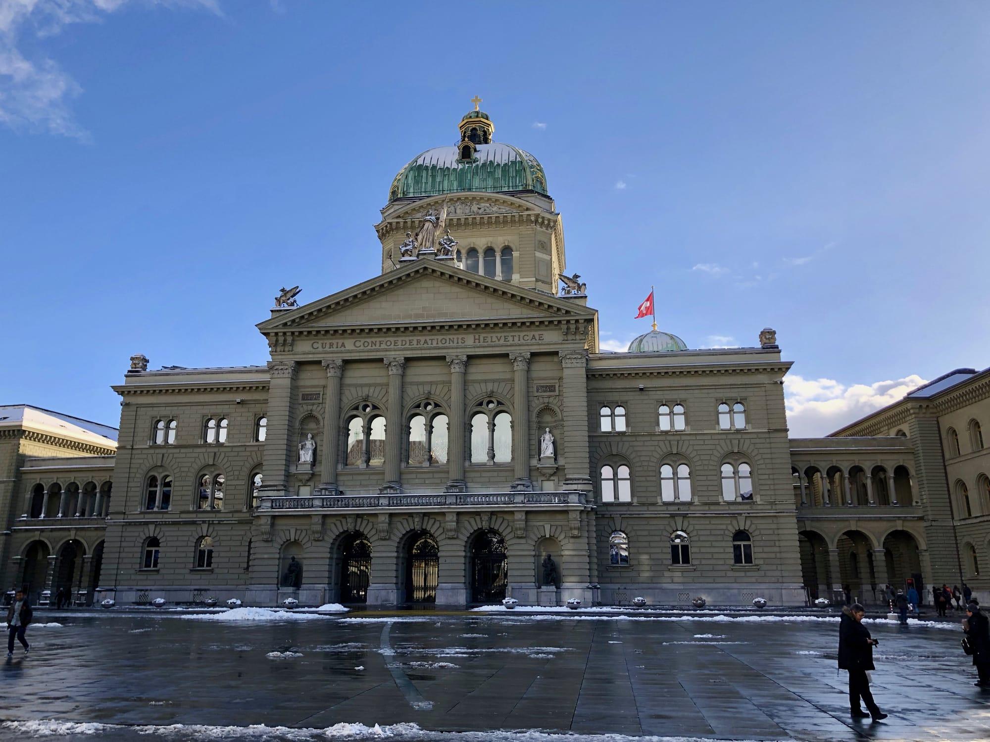 Il Palazzo federale (Bundeshau) di Berna