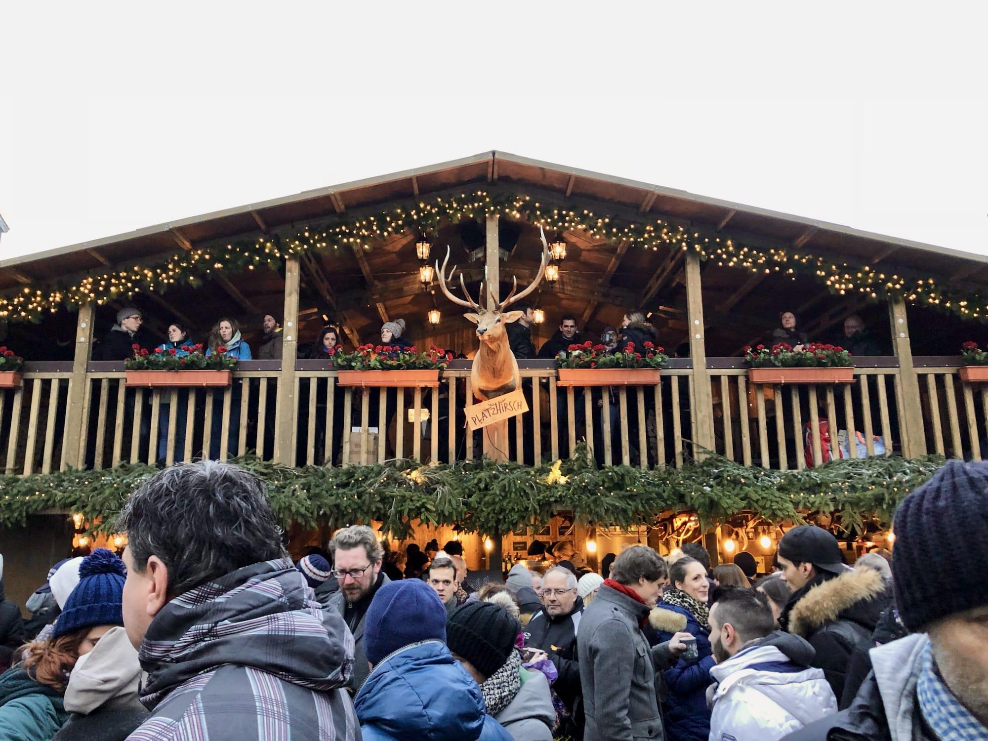 Il mercatino di Natale di Berna