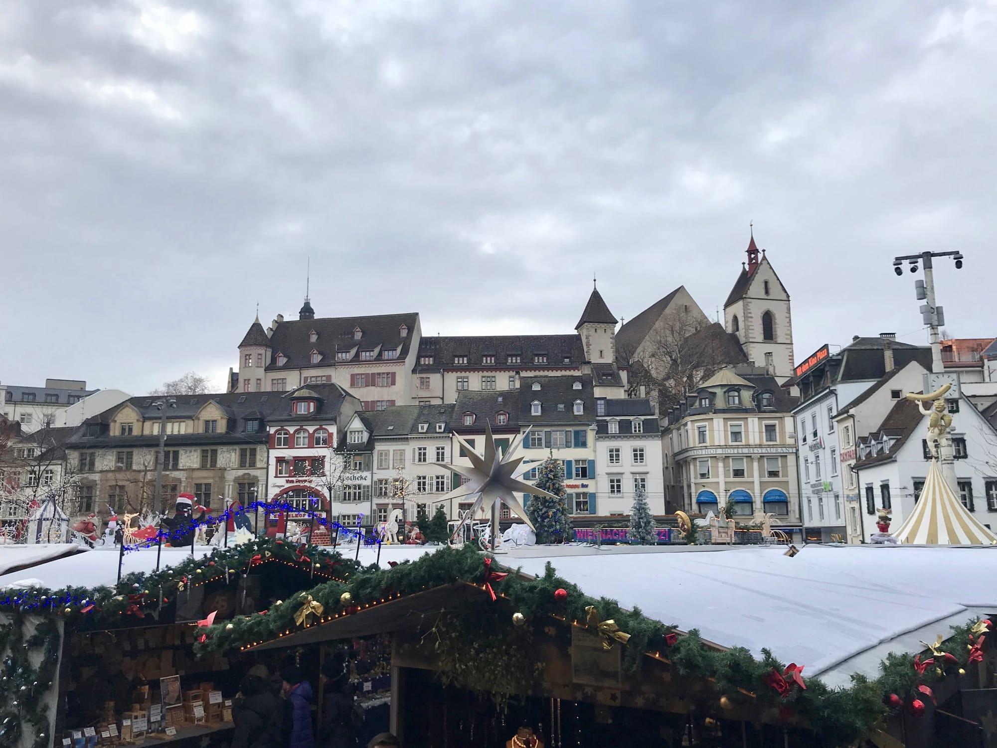 Il mercatino di Natale di Basilea in Barfüsserplatz
