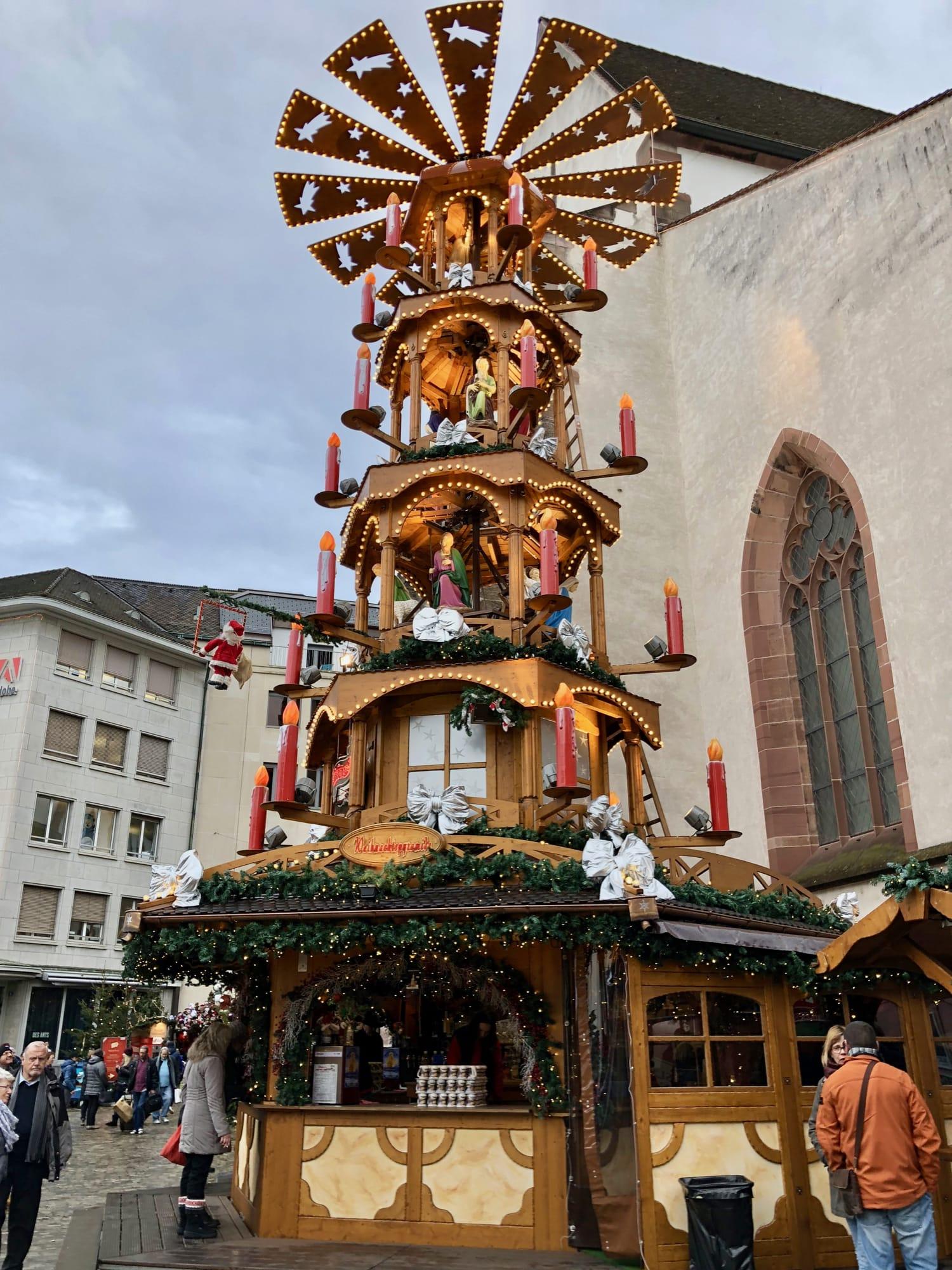 Originali decorazioni nei mercatini di Basilea