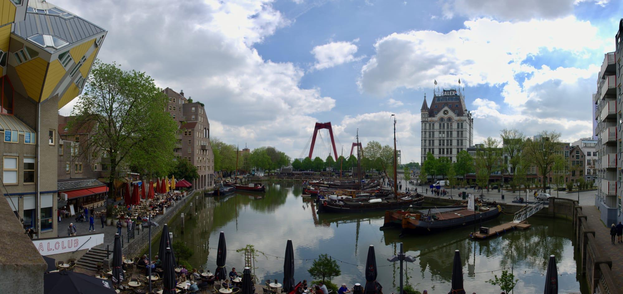 Rotterdam e Kinderdijk: l'architettura moderna e i tradizionali mulini