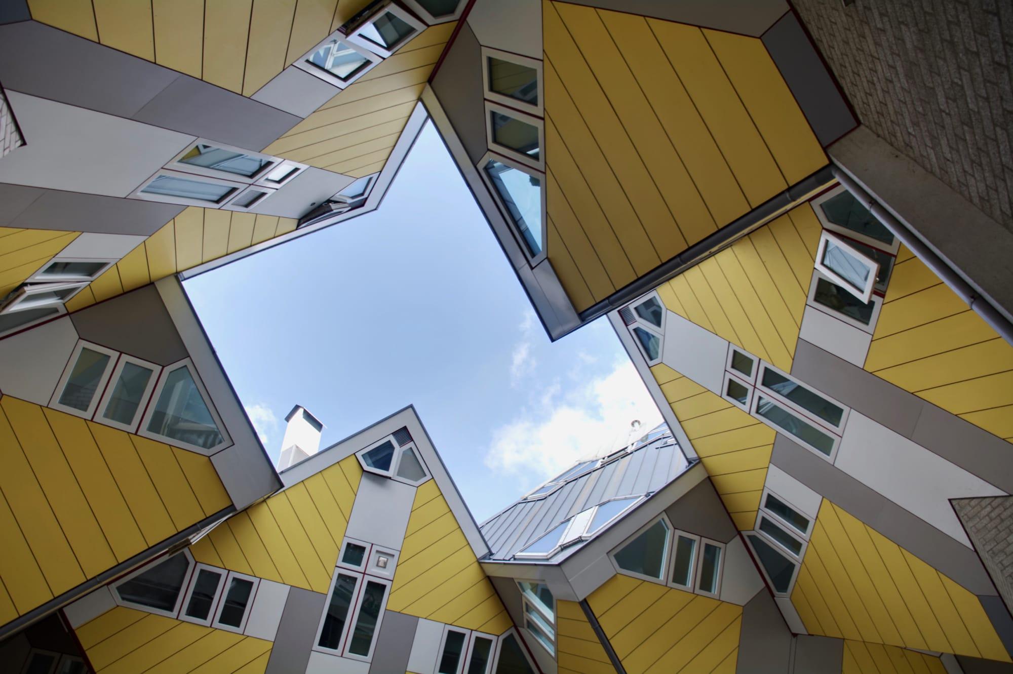 Rotterdam e kinderdijk l 39 architettura moderna e i for Architettura moderna case