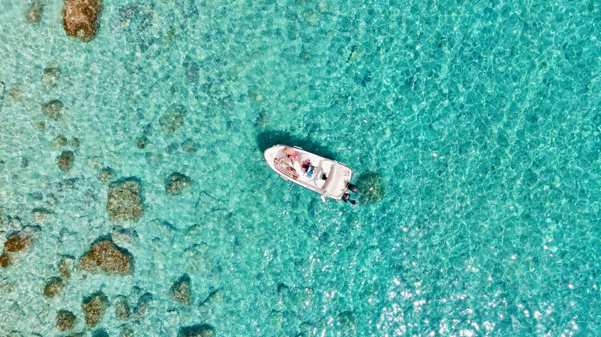 Paxos: un'isola da vivere in barca