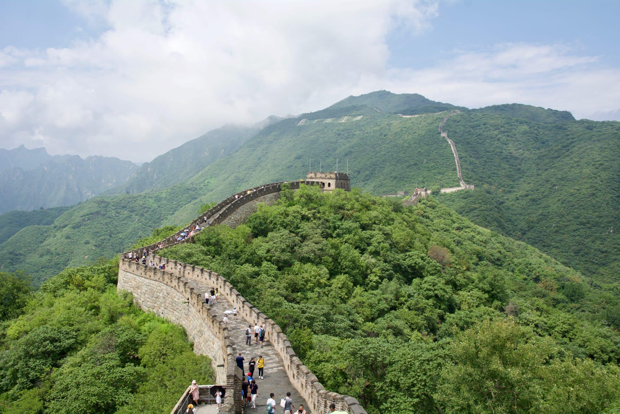 Beijing: la Grande Muraglia