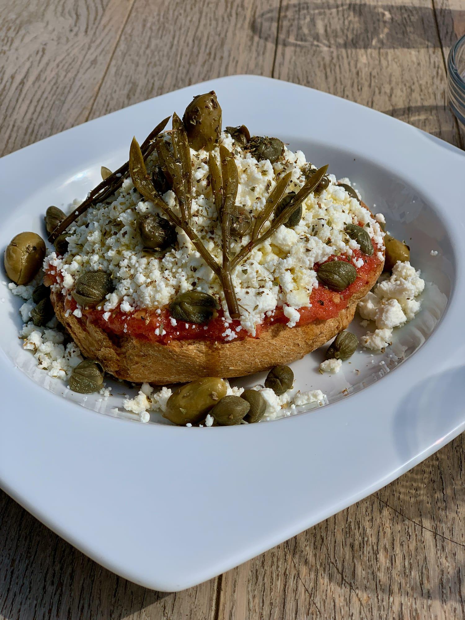 Piatto tipico di Tinos