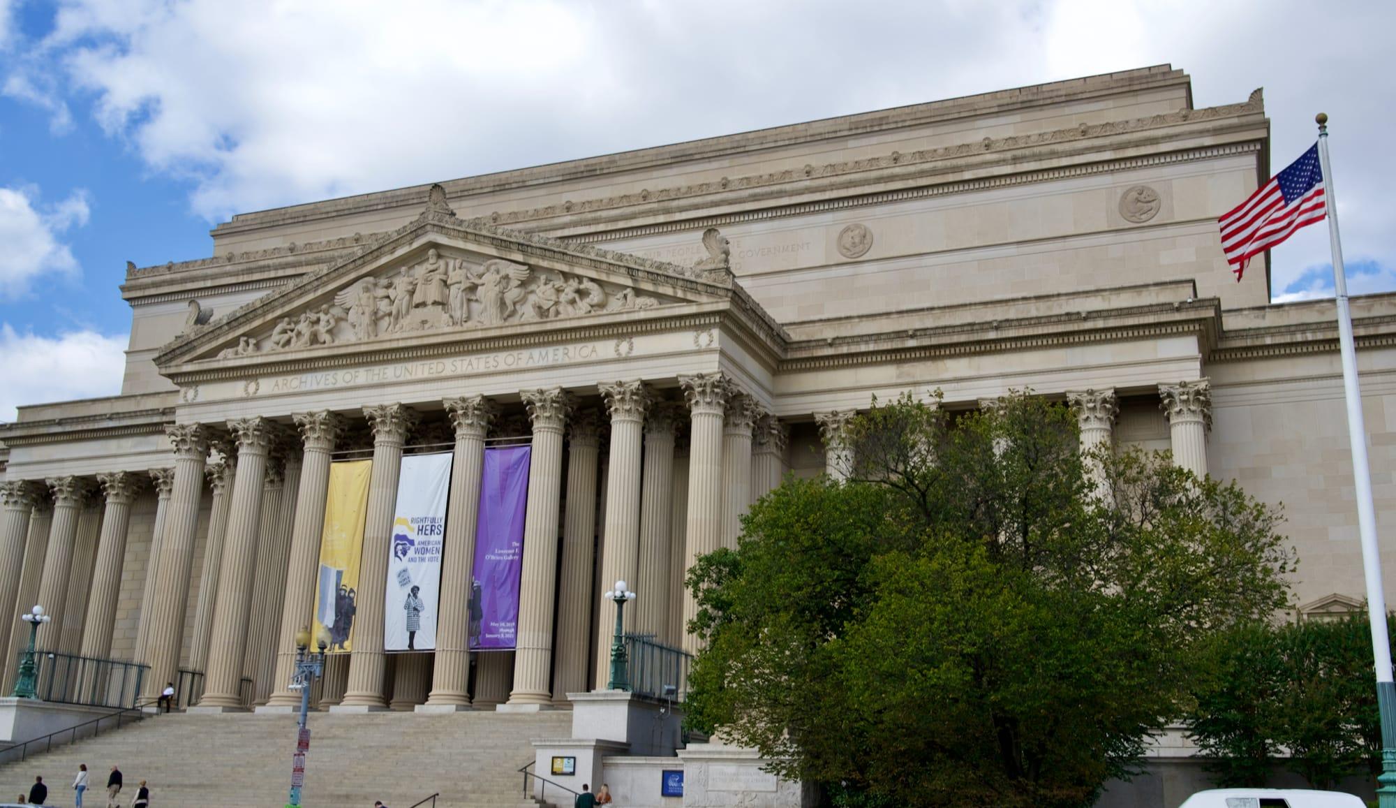 Washington National Archives