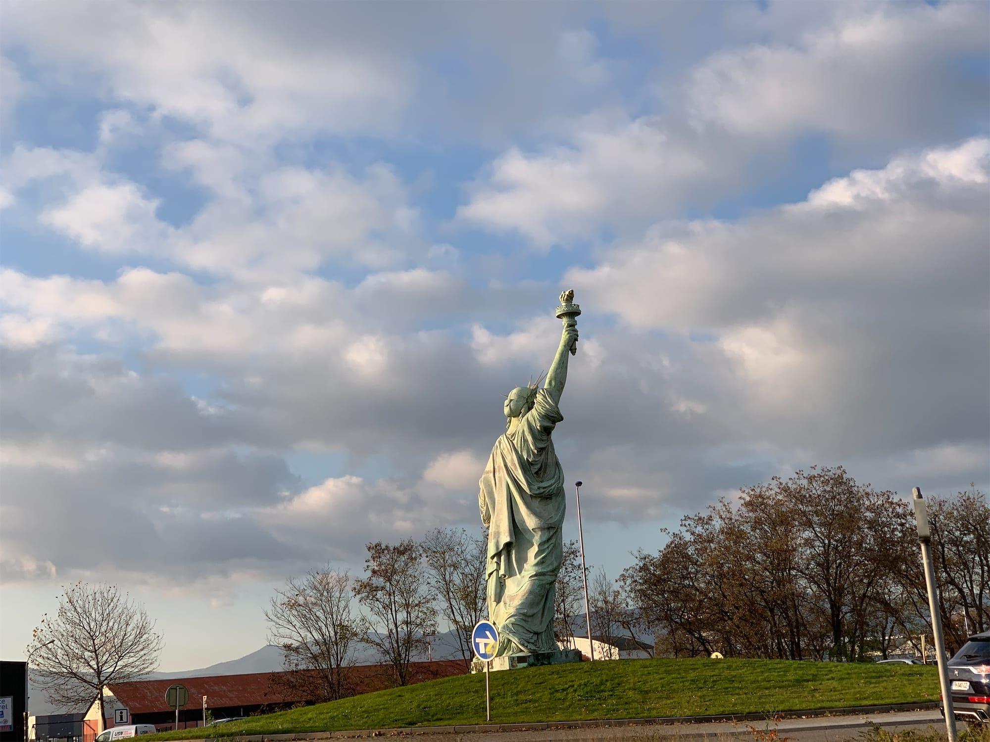 Colmar Liberty Statue